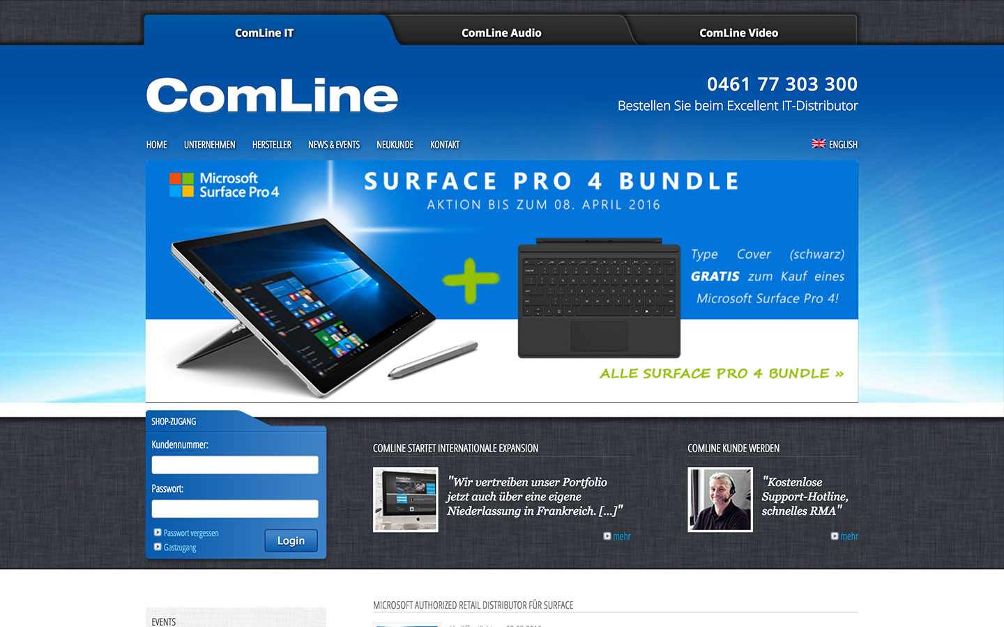 ComLine IT Distributor, Apple Distributor