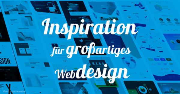 Webdesign Inspiration für Webdesigner