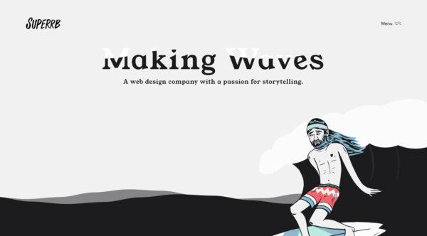 superrb - Webdesing Inspiration