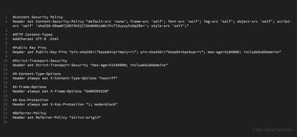 HTTP Header über htaccess einstellen