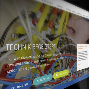 WordPress Theme Development BBZ NOK Rendsburg