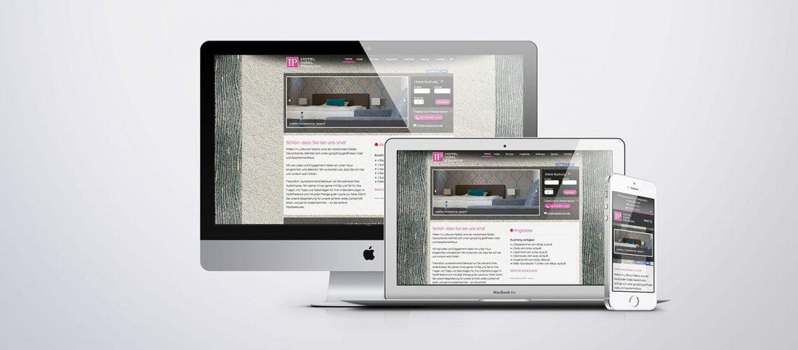 Individuelles Wordpress Theme für ein Hotel
